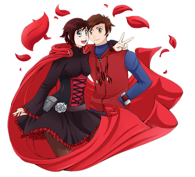Commission: Ruby Spider by Aijihi