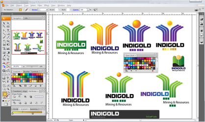 Prevue of  INDIGOLD WIP by Encre8