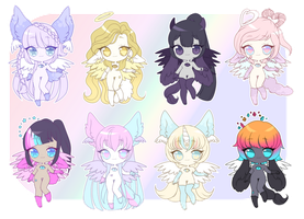 [Adopt] Eye of Ether - Set 1 {25% SALE} [CLOSED] by nyanami