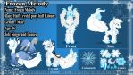 Commission: Frozen Melody - Reference Sheet by TheArtsyEmporium
