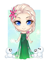 Frozen Fever- Elsa by Ketrin-tyan