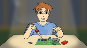Soldering a Circuit by xwindows