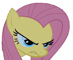 Angry Fluttershy by kanacali