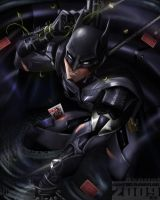 Batman by axouel2009