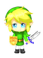 Chibi Link by reddishpirate0614