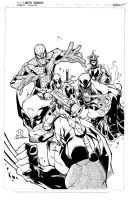 My Avengers inks by JoeyVazquez
