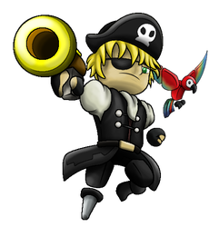 Trove Pirate PhatDylanRules by SkyTheVirus