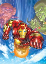 IRON MAN Animated Box Art by DNA-1