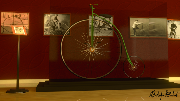 Penny Farthing Museum by M-Ehab