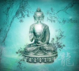 inspired by buddha by amincreations