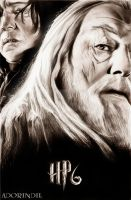 HPand the Half-blood prince by AdorindiL