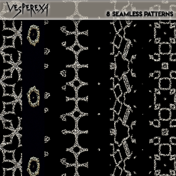 Jewelled Seamless Textures Pack 1 by Vesperexa