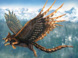 Gryphon Restored by TheDragonofDoom