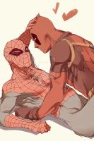 Spideypool62 by LKiKAi