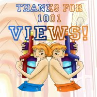 Thanks for 1001 VIEWS by Kirps