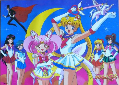 Sailor Moon SuperS Poster 1 by SakkysSailormoonToys