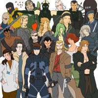 Metal Gear Solid Collection by Trisx1234