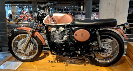 1970 Indian Velocette P 1 of 2 by Caveman1a