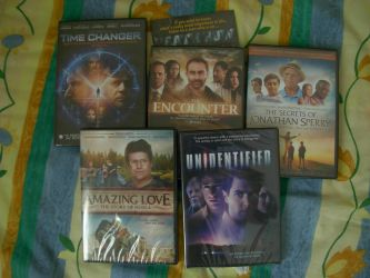 Christian Movies arrived today! by gabriellestory