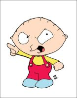 Stewie Griffin by iceclimbers87