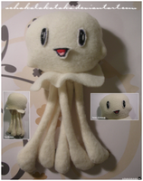 Cute jellyfish plushie by Schakalakataka