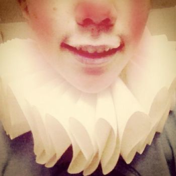 COSPLAY WIP: Neck Ruffle by TheGraveyardteaparty