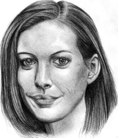 Anne Hathaway by jcling