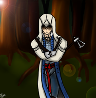 Connor Kenway by Ratonhnhaketon