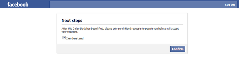 Facebook Punishes by ForgetfulRainn