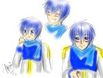 Scar - Kaito - Expressions by AriusLeon