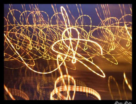 Light Trails by Suds29990