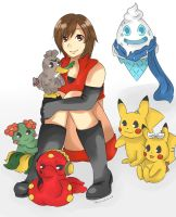 Vocaloid and Pokemon
