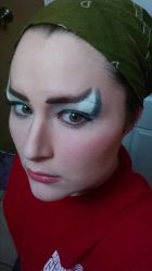 Goblin Queen Makeup Test by EmbodimentOfWrath