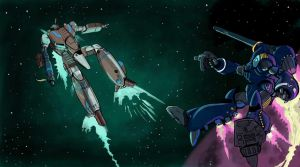 Robotech: Quick Draw by LeElf