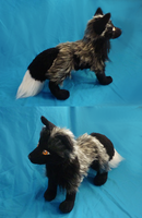 Silver fox plush: finished by goiku
