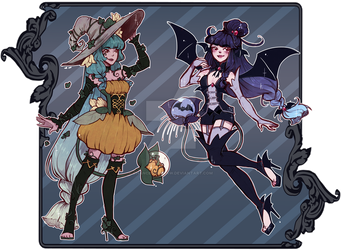 [auction] October Fysaera Adoptables [closed] by Chance-To-Draw