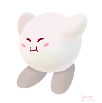 Kirby [White] by DokGilda