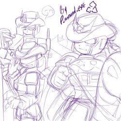 TF Slash - Western PJ and OPSS by plantman-exe