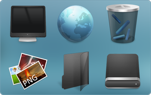Radium Neue For IconPackager by ipholio