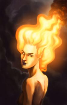Firehair revised by Capeuler