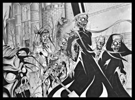 nationundead comic double page by Jay-Allen-Hansen