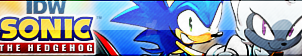 IDW Sonic the Hedgehog Button by TBalazs2000