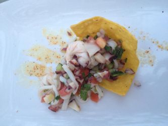 Ceviche of the Day by nosugarjustanger