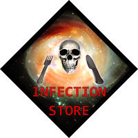 Logo Infection Store by visuelalternatif