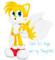 Miles Tails Prower the fox by Pawy95