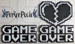 Game Over by PerlerPixie