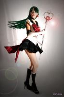 super sailor pluto cosplay by Yunnale