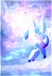 Glaceon: Ice and Water by StarlightNexus-Chan