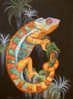 Panther Chameleon by HouseofChabrier