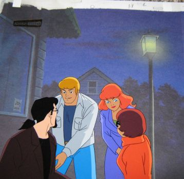 Scooby Doo and the Witch's Ghost Production cel #2 by BlueRav3Pony